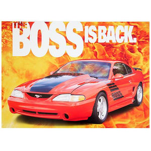 1995 SVT Boss is Back Poster