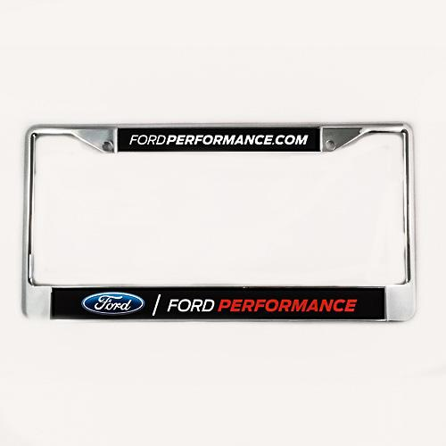 Ford Performance Chrome License Plate Frame