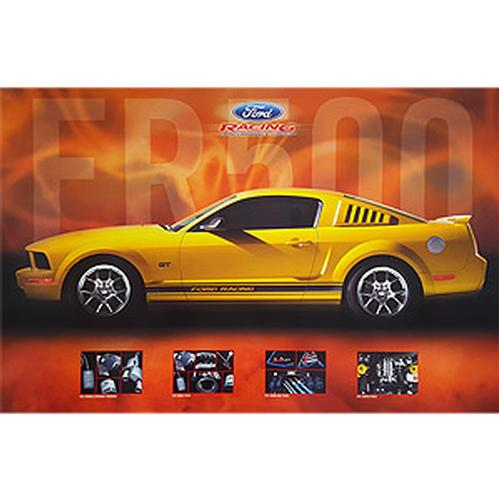 Ford Racing FR500 2-Sided Poster
