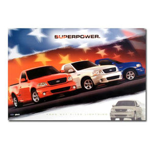 2003 Lightning Superpower Poster