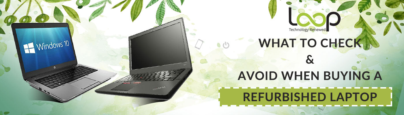 Best Refurbished Laptops under 400: Why Loop8's Products Won't Let You Down!