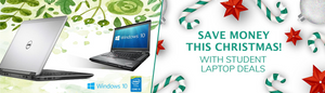 Student Laptop Deals UK - Save Money this Christmas!