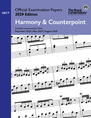 2019 Official Examination Papers: ARCT Harmony & Counterpoint
