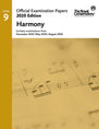 2020 Official Examination Papers: Level 9 Harmony