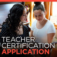 Teacher Certification Application