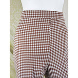 1970's Houndstooth Wide Leg Flares