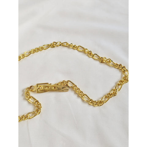 Vintage Gold Buckle Chain Belt