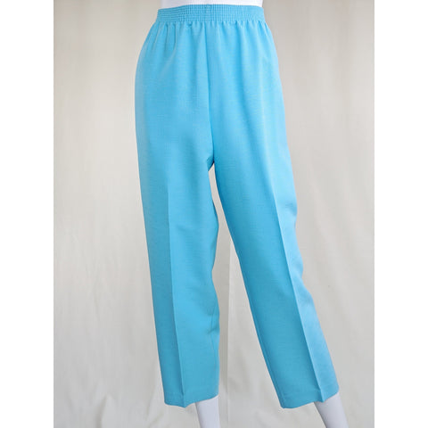90's Turquoise Trousers