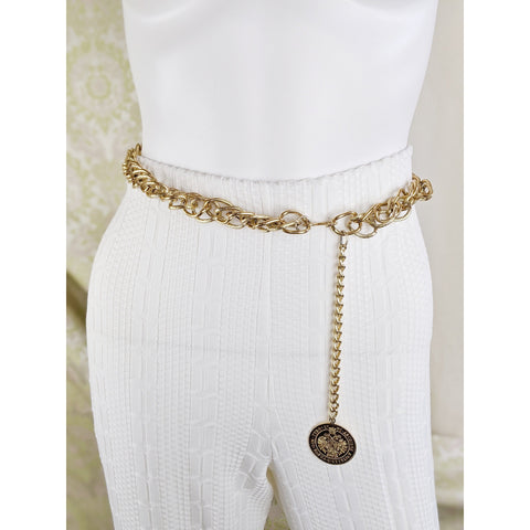 Vintage Gold Chain Belt