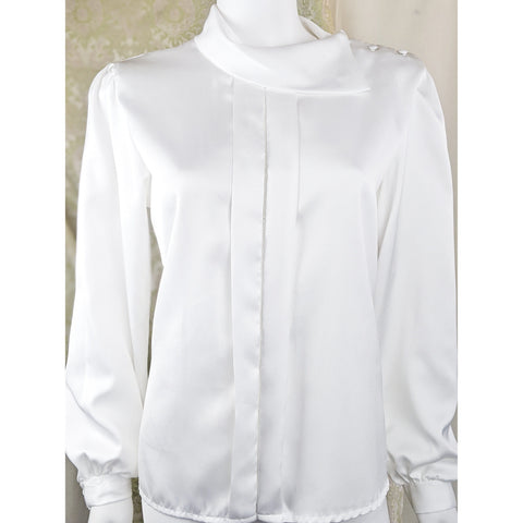 1980's Satin Blouse