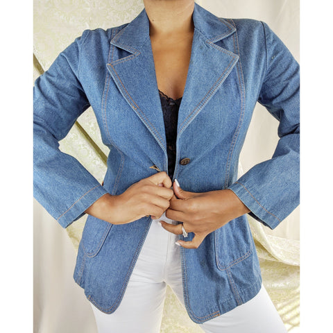 70's Sears Denim Blazer
