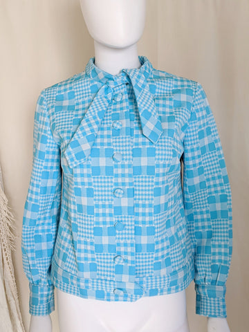 1960's Check Shacket