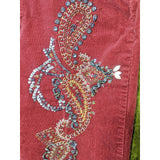 1990's Blingy Corduroy Pants