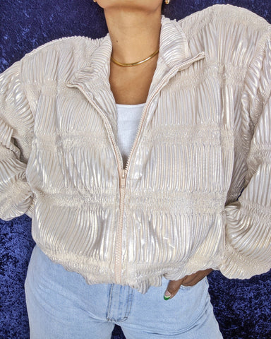 1990's Champagne Jacket