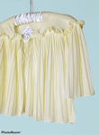 1960's Pleated Lingerie Capelet