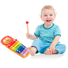 Load image into Gallery viewer, Wooden Lion Xylophone, Wooden Educational Toy