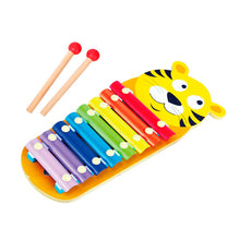 Load image into Gallery viewer, Wooden Tiger Xylophone, Wooden Educational Toy