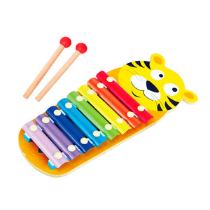 Wooden Tiger Xylophone, Wooden Educational Toy