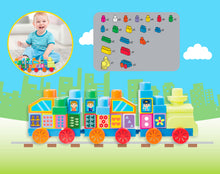 Load image into Gallery viewer, 50 pcs 123 Counting Train Mega Block, Educational Toy for Baby, Toddler