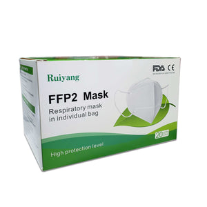 KN95 Protective Mask, FFP2 Mask, Respiratory Mask Individually Pack, FDA/CE Certified | Pro-Unico