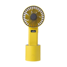 Load image into Gallery viewer, Osci-Fan Pro Desktop/Handheld Fan, Horizontal Oscillation + Vertically Adjustable Fan Head, USB Rechargeable