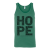 HOPE. Unisex Tank -6 Colors - Life Petals Boutique & Blog