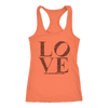LOVE Women's Racerback Tank