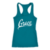 Grace, A Beautiful Gift. Women's Racer Back Tank - Life Petals Boutique & Blog
