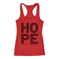 HOPE. Women's Racerback Tank - 14 Colors - Life Petals Boutique & Blog