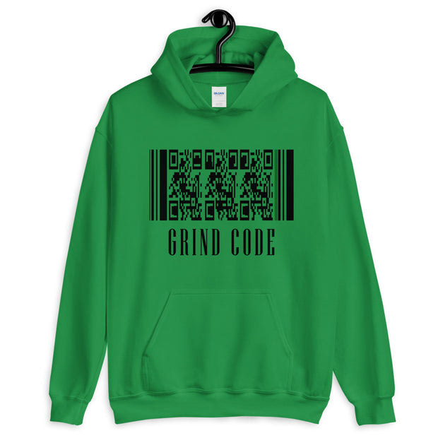 Grind Code. Unisex Hoodie - 7 Colors - Life Petals Boutique & Blog