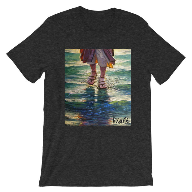 Walk. Unisex Tee - 17 Colors - Life Petals Boutique & Blog