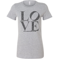 LOVE Women's Fitted Tee