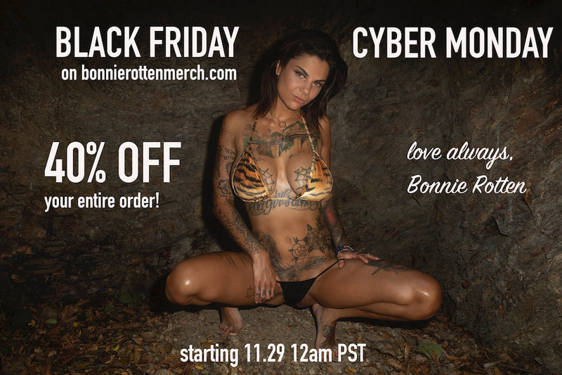 BLACK FRIDAY 40% OFF YOUR ENTIRE ORDER!