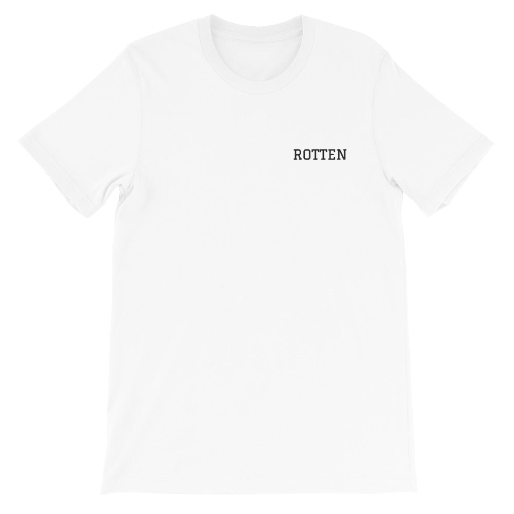 """Rotten"" Embroidered Short-Sleeve Unisex T-Shirt"