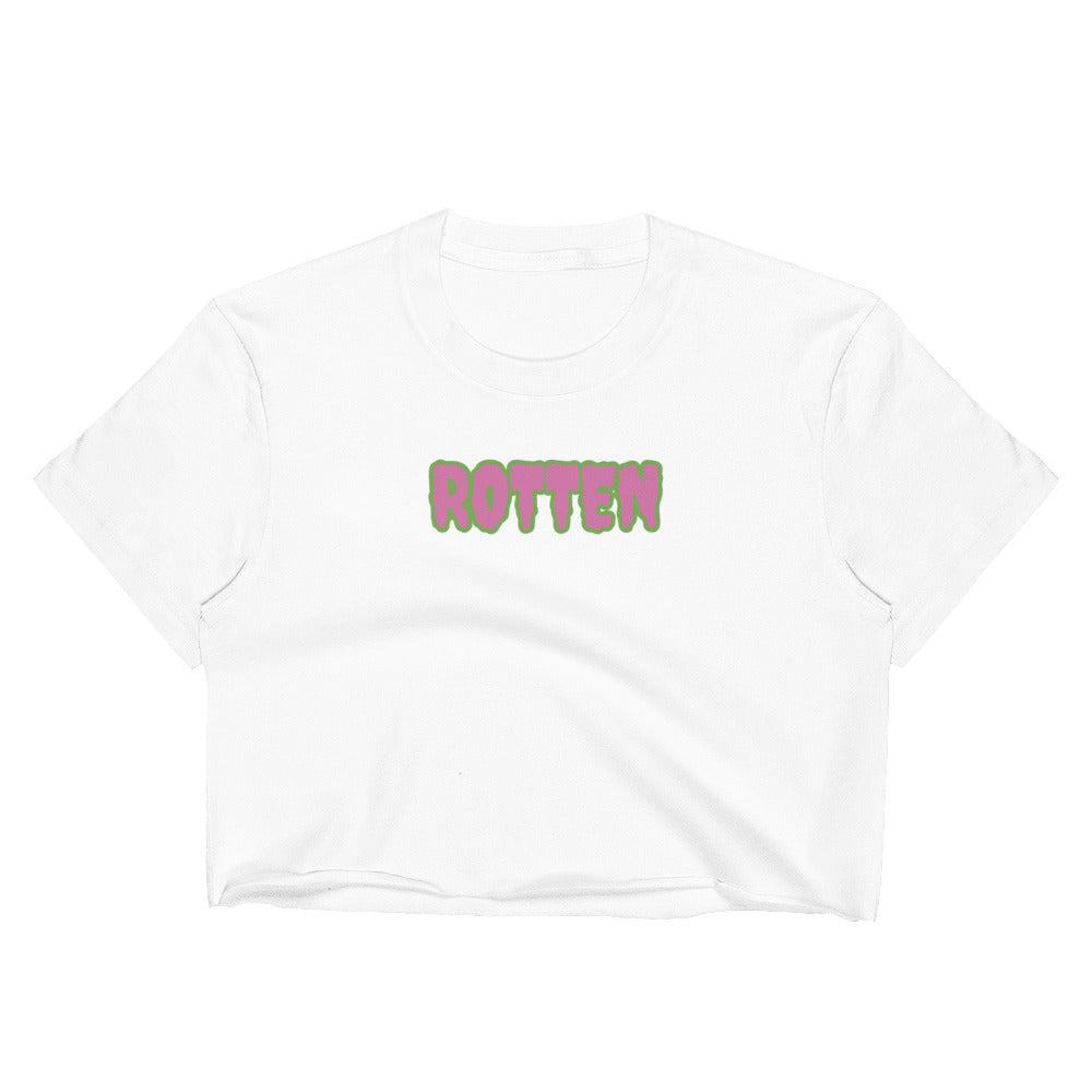 """ROTTEN CREEPSTER"" Women's Crop Top"