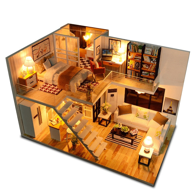 Dream House With Furniture Kit Toys
