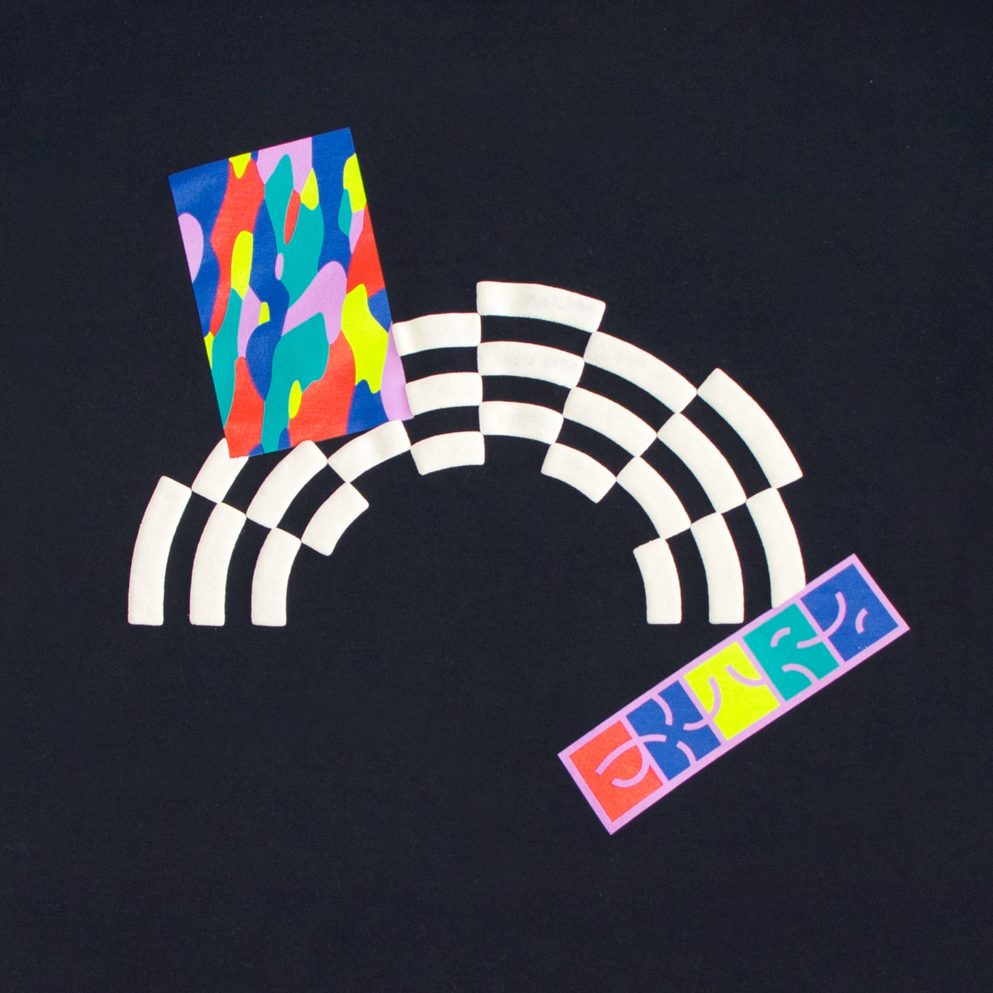 Rainbow T-Shirt - Black