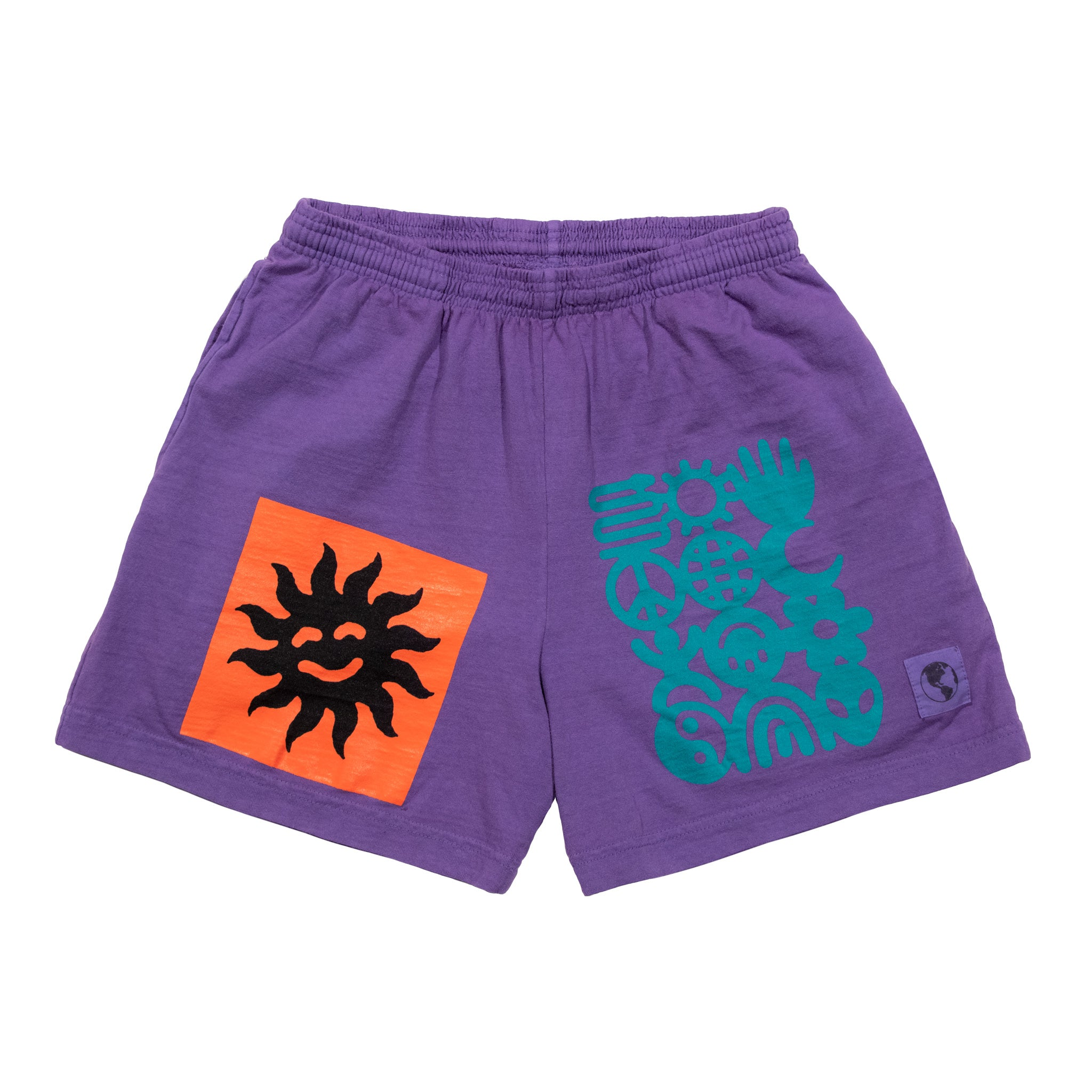 Purple Sun Shorts