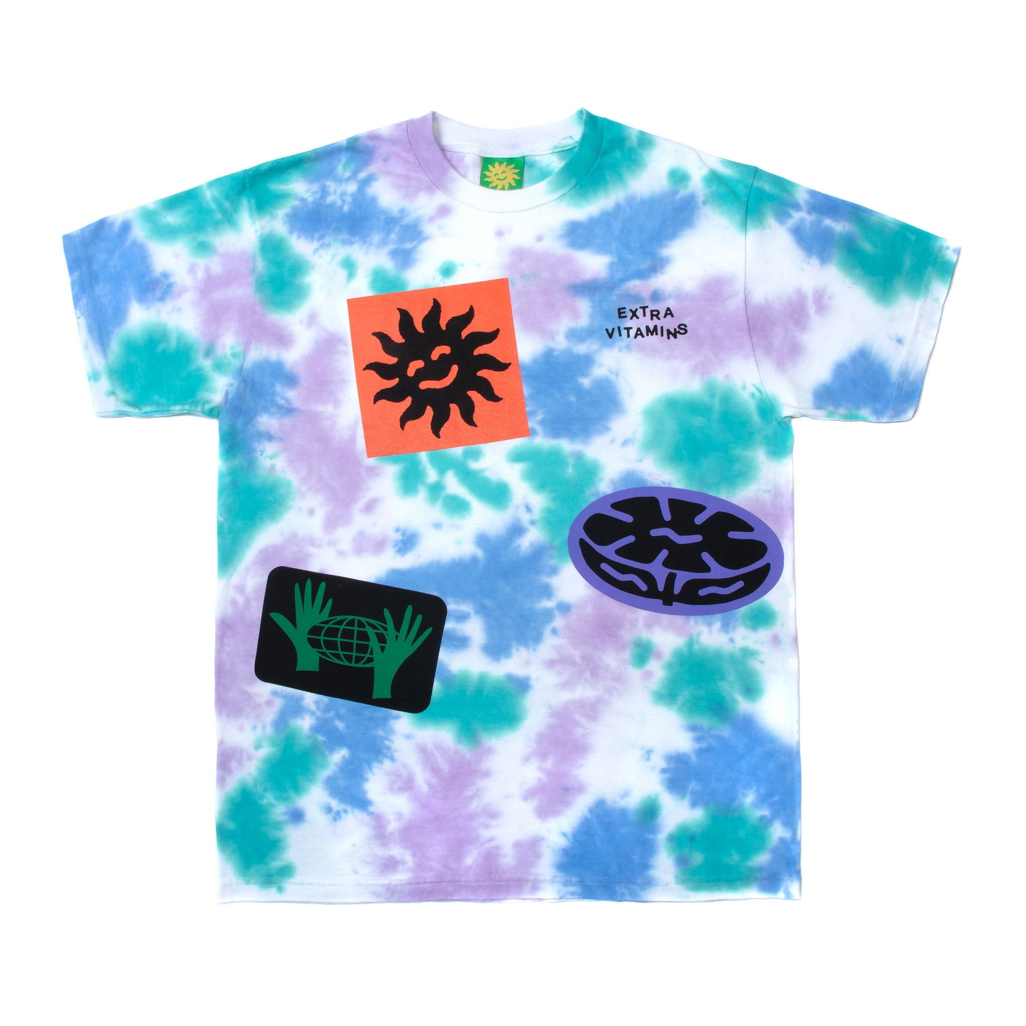 Sticker Dye T-shirt