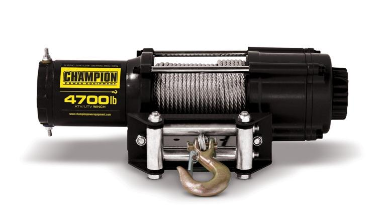 Champion 100129 4700 lb. Capacity Winch