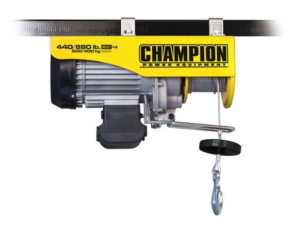 Champion 18890 440/880 LB Remote Control Electric Hoist
