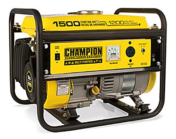 Champion 42436 1200/ 1500 Watts Generator