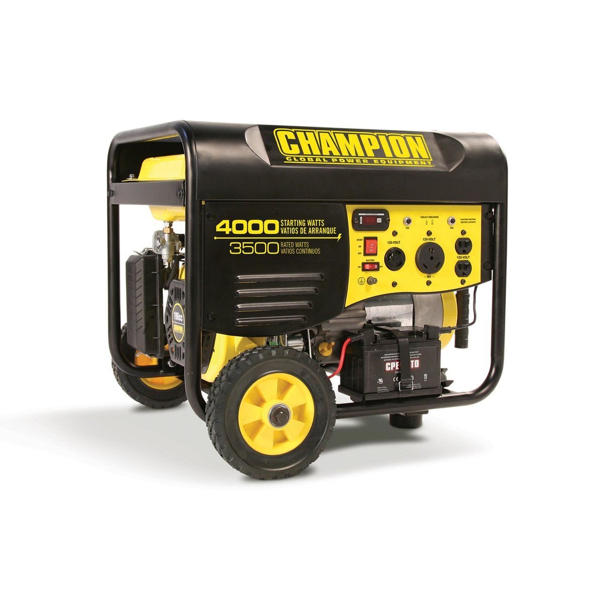 Champion 46565 3500/ 4000 Watts Generator - Remote Start