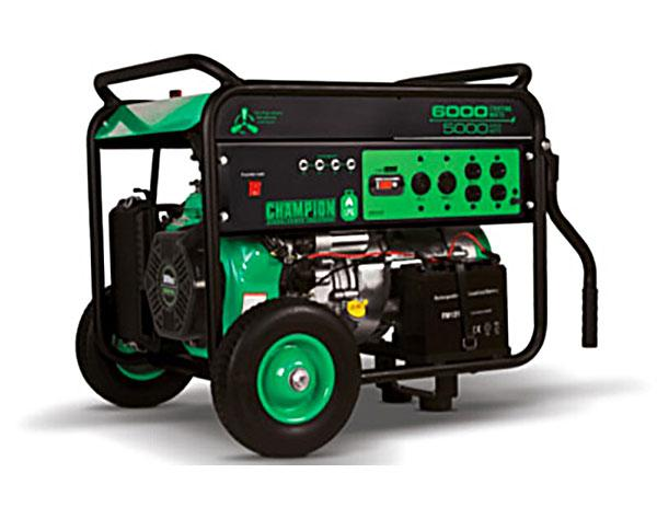 Champion 71330 LPG Generator - 5000/ 6000 Watts - Electric Start