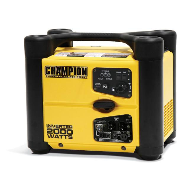 Champion 73536i Inverter Generator 2000 Watts - Super Quiet