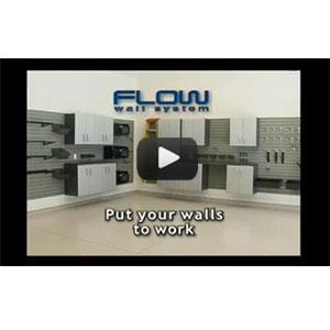 Flow Wall™ 3 Cabinet Set w/ Wall Panel