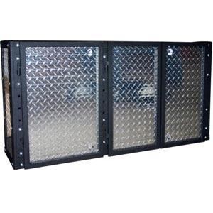 "Garage Fabricators GFDP-54WALL Diamond Plate 54"" Wall Cabinet"