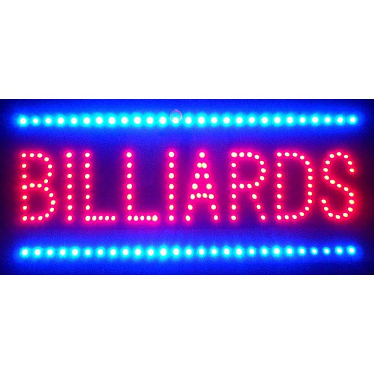 Neonetics BILLIARDS LED SIGN