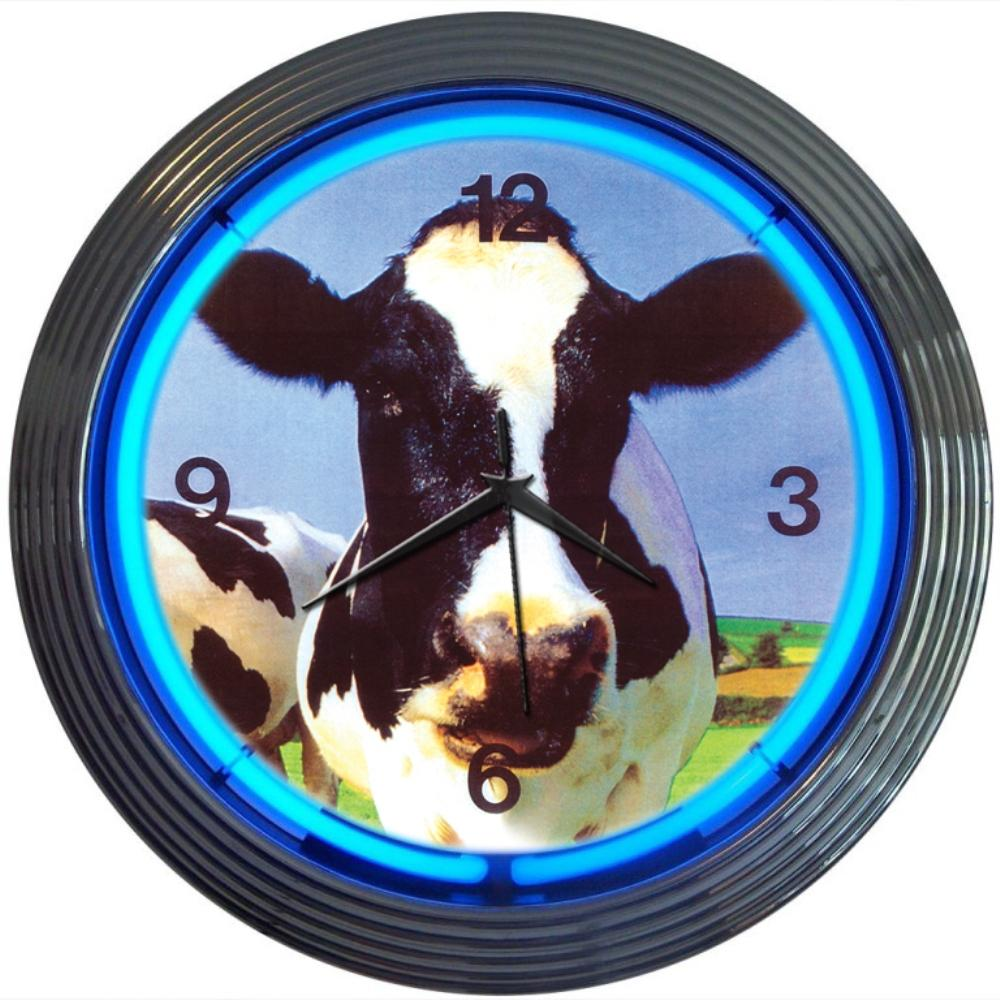 Neonetics COW NEON CLOCK