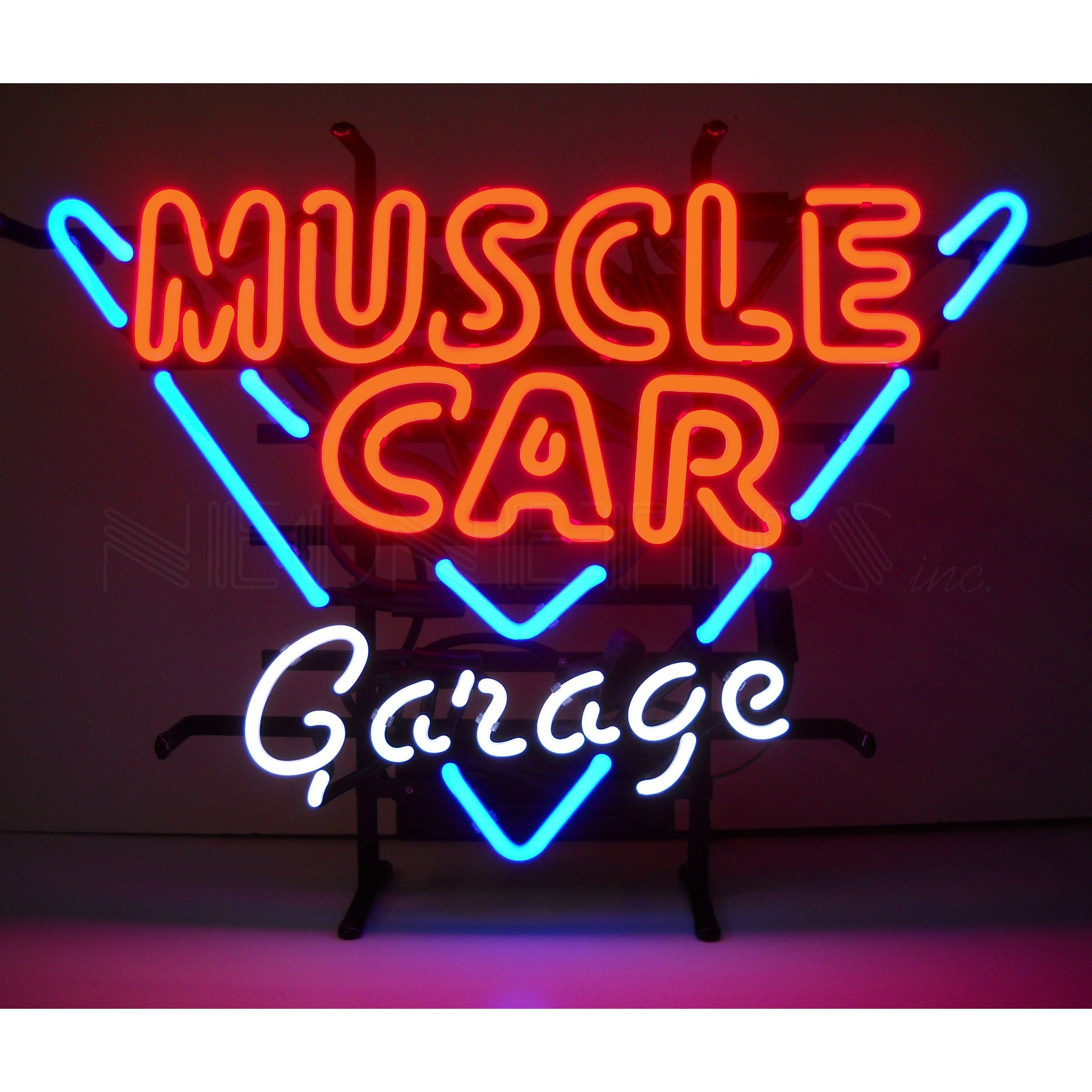 Neonetics Muscle Car Garage Neon Sign